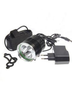 Sky Ray 3T6 Fietsverlichting 3xcree XM-L T6 3800 Lumen 4 Modi LED Fietskoplampen