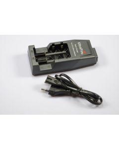 UltraFire WF-139 oplader voor 18650 / CR123A / 14500 oplaadbare lithiumbatterijen