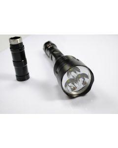 TrustFire TR-3T6 3 * (CREE XM-L T6) 3800 lumen LED zaklamp (10 stuks)