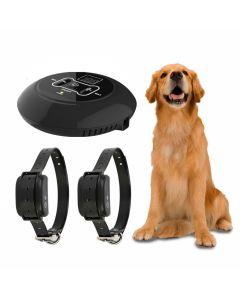 Nieuwe draadloze elektronische huisdier hond fence systeem en hond opleiding Halsband Pieptoon Shock Vibration Training en Fence Functie
