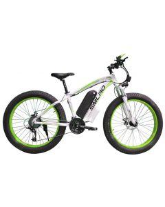 SMLRO 26 inch elektrische berg fiets vet ebike 21speed sneeuw elektrische fiets 48V lithium batterij 500W motor 4.0 vet hybride fiets