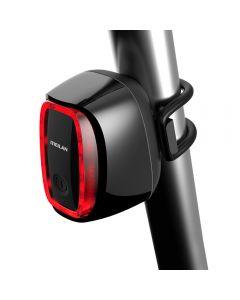 MEILAN X6 Smart Fiets Achterlicht Fiets achterlicht USB Oplaadbare Waterdichte Fietsrem Veiligheid Warnin LED-achterlicht