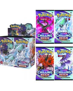 360pcs Pokémon TCG: Sword & Shield Chilling Reign Booster Display Box Collection Card