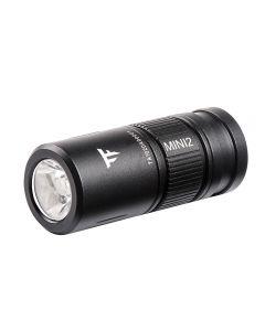 Trustfire Mini2 oplaadbare zaklamp sleutelhanger USB 250Lumens EDC draagbare zaklamp pocket lamp