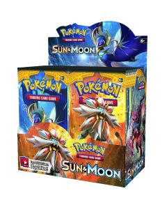 Pokemon Cards TCG: Sun & Moon Booster Box Trading Card 36 Pakketten