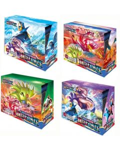 2021 NIEUWE 4x360Pcs Pokemon TCG: Sword &Shield Battle Styles Booster Box Trading Card Game Collection Speelgoed