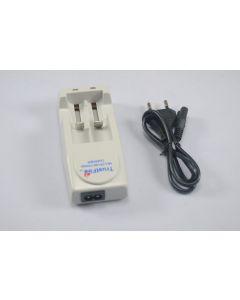 TrustFire TR-001 Multifunctionl lader voor voor 10430/10440/14500/16340 /17670/18650/18500 Betteries