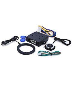 Auto Car Alarm Auto Motor Duw Startknop RFID Lock Ontsteking Starter Keyless Entry Start Stop Stop Impibilizer Anti-Diefstal Systeem