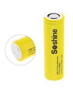 Soshine IMR 21700 batterij 3.7V 14.8Wh 4000mAh Li-ion oplaadbare batterij