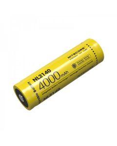 Nitcore nl2140 4000mAh 3.6V 14.4WH 21700 Li-ion oplaadbare batterij