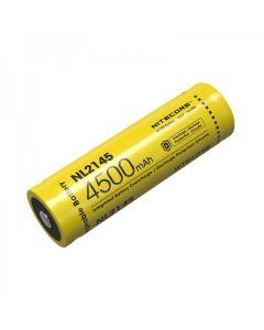 NITECORE NL2145 4500mAh 3.6V 16.2Wh 21700 Li-ion Oplaadbare batterij