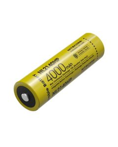 NUTCORE NL2140HP 4000 MAH 3.6V 14.4WH 21700 Li-ion oplaadbare batterij