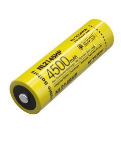 NITECORE NL2145PK 4500mAh 3.6V 16.2Wh 21700 Li-ion Oplaadbare batterij