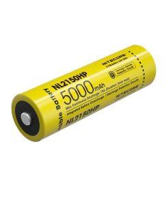 Nitcore NL2150HP 5000 MAH 3.6V 18WH 21700 Li-ion oplaadbare batterij