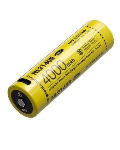 Nitcore NL2140R 4000mAh 3.6V 14.4WH 21700 USB-C Li-ion oplaadbare batterij