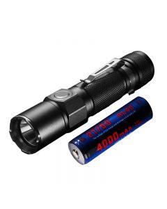 JETBEAM KO-02 EDC Cree XHP35 1800LUMENS 21700 batterij USB oplaadbare LED zaklamp