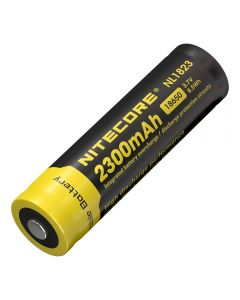 Nitcore 18650 NL1823 2300 3.7V 8.5Wh Li-ion oplaadbare batterij