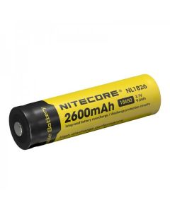 Nitcore 18650 NL1826 2600 3.7V 9.6Wh Li-ion oplaadbare batterij