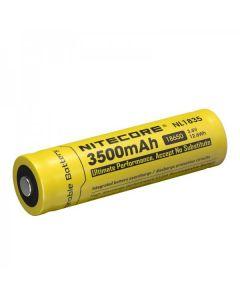 Nitcore 18650 NL1835 3500 3.6V 12.6Wh Li-ion oplaadbare batterij
