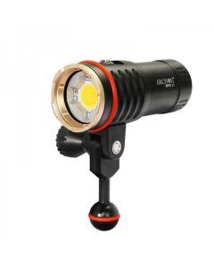 ARCHON DM10 II / WM16-II Duiken Video Zaklamp COB LED 3500LM Neutraal Wit Licht / Rood Licht / UV-licht Duiken Torch