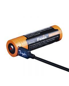 FENIX ARB-L21-5000U USB oplaadbare 21700 Li-ion batterij