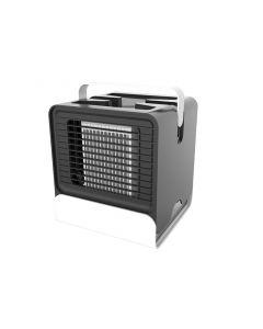 USB Mini Draagbare Airconditioner Luchtbevochtiger Purifier Licht Desktop Luchtkoeling Fan Air Cooler Fan voor Office Home
