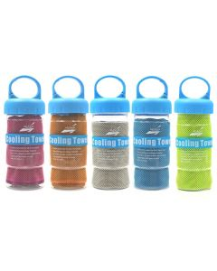 Sport Icing Cold Towel Snelly-Dry Instant Chilly Cooling Face Handdoek Gym Fitness Excerise Bench Handdoek