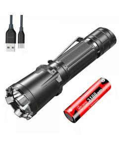 Klarus XT11GT PRO CREE XHP35 HD 6500K 2200LUMENS USB Type-C Oplaadbare LED-zaklamp