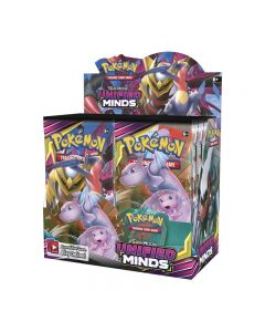 Pokemon TCG: Unified Minds verzegeld Booster Box Verzamelbare handelskaarten 36 Packs