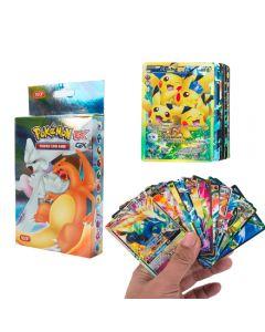 100 verschillende Pokemon-kaarten 20MEGA 58BASIC 20GX 1TAG TEAM 1ENERGY Booster Box-ruilkaarten
