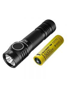 Nitcore E4K 4 X CREE XP-L2 V6 LED 4400 Lumens 21700 Batterij Zaklamp