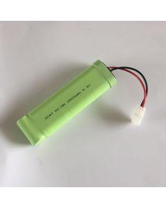 Ni-MH 8.4V SC*7 2500mAh RC White Plug Battery Pack