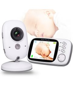 VB603 Wireless Video Color Baby Monitor met 3.2Inches LCD 2 Way Audio Talk Night Vision Surveillance Security Camera Babysitter