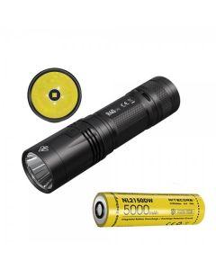 Nitcore R40 V2 CREE XP-L2 V6 LED 1200 Lumen USB Oplaadbare 21700 Batterij Zaklamp