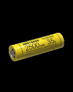 NiteCore IMR18650 2500mAh 35A oplaadbare batterij-1pc