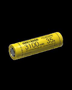 NiteCore IMR18650 3100mAh 35A oplaadbare batterij-1pc