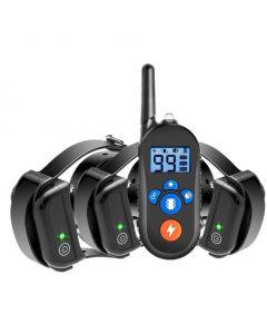 800m Elektrische Hond Trainingskraag, Hond Shock Collar W / 3 Trainingsmodus, Elektronische Hond Shock Trainingskraag met afstandsbediening voor kleine medium Grote honden, 100% waterdicht