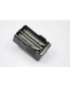 OEM digitale batterijlader voor 2x18650 oplaadbare batterijen