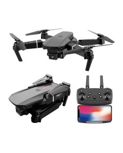 E88 Professionele Mini WIFI HD 4k Drone Met Camera Hoogte Hold Modus Opvouwbare RC Vliegtuig Helicopter Pro Dron Speelgoed quadcopter Drones