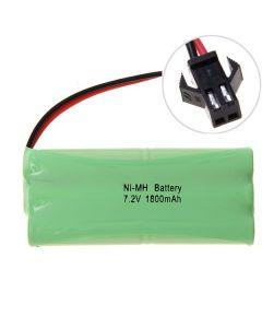 Ni-MH AA 1800mAh 7.2V Grote SM Plug Battery Pack