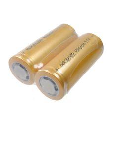 Hoge capaciteit 26650 4000mAh Li-ion oplaadbare batterij (1 paar)