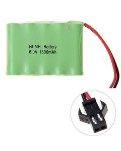 Ni-MH AA 1800mAh 6V Grote SM Plug Battery Pack