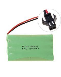 Ni-MH AA 9.6V 1800mAh grote SM connector batterijpakket