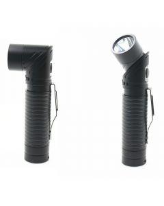 USB-oplaadbare LED CREE XM-L T6 700 Lumen Verstelbare-Koplamp Magneet Zaklamp Torch