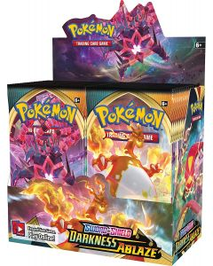 360st Pokémon TCG: Sword & Shield Darkness Ablaze Sealed Booster Box 36 Packs Kaarten