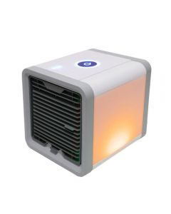 USB Mini Draagbare Airconditioner Luchtbevochtiger Purifier 7 Kleuren Licht Desktop Luchtkoeling Fan Air Cooler Fan voor Office Home