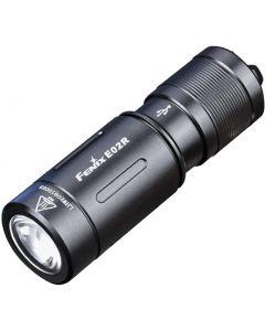 Fenix E02R Cree XP-G2 S3 witte LED 200 lumen USB oplaadbare sleutelhanger zaklamp