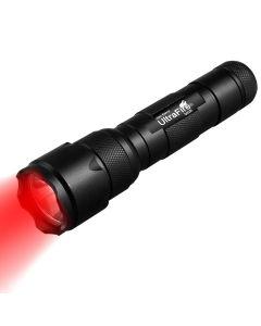 UltraFire WF-502B.2 XP-E2 LED Zoomable Red Light Flashlight