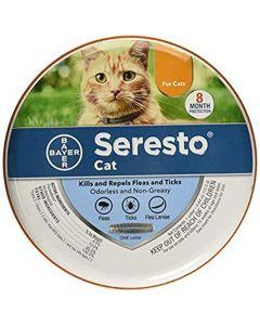 Seresto Vlooien- en tekenhalsband voor katten, alle gewichten en maten
