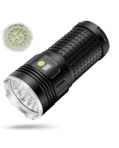 Sky Ray 18xcree XML T6 4 Modi 15000 Lumen Oplaadbare USB Type-C LED-zaklamp